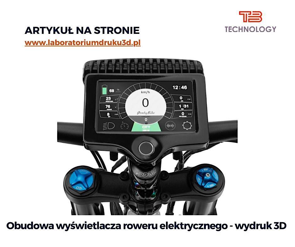 Read more about the article Obudowa wyświetlacza roweru elektrycznego