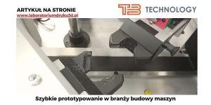 Read more about the article Prototypowanie w branży budowy maszyn