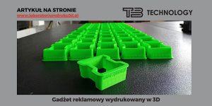 Read more about the article Wydruk 3D gadżetów reklamowych